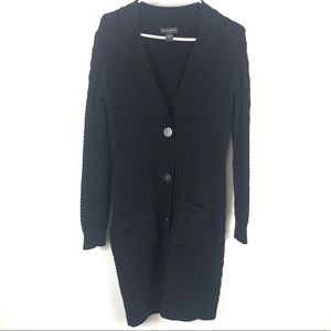 Banana Republic long Knit Button Up cardigan